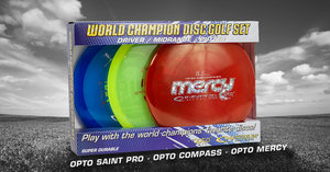LATITUDE 64 WORLD CHAMPION OPTO DISC GOLF SET