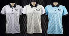 Latitude 64 Chain Wear Polo Shirt - Fence